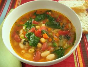 Tuscan Bean Soup > Start Cooking