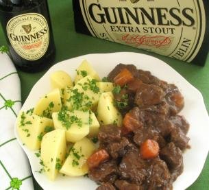 Guinness Stout Beef Stew Is Rich And Hearty And A Perfect Meal To Serve On A Cold Day Of Course It S A Must For St Patrick S Day Which Here In Boston Is