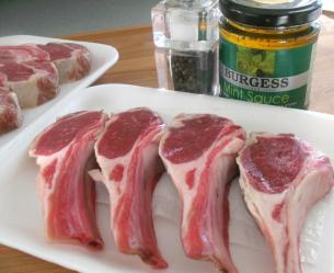 How to cook lamb chops start cooking a inch thick chop is the optimum size to buy thinner chops tend to get over cooked very easily figure on 2 3 chops per person publicscrutiny Images