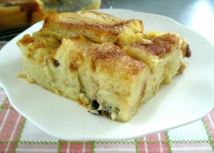 Bread Pudding > Start Cooking