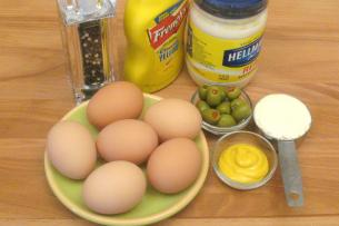 How to make deviled eggs start cooking how to make deviled eggs ccuart Choice Image