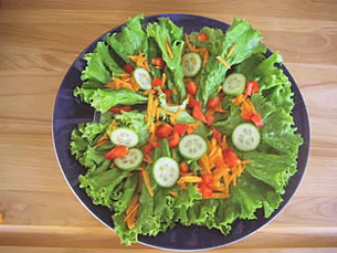 Vegetable And Chef Salad Gt Start Cooking