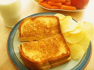 Grilled Cheese Sandwich (video)