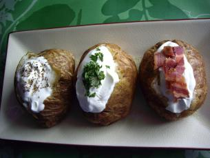 Oven Baked Potatoes Start Cooking