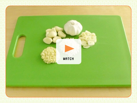How to Slice, Mince and Crush Garlic > Start Cooking