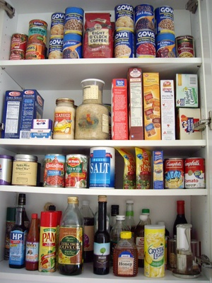 My Food Cupboard